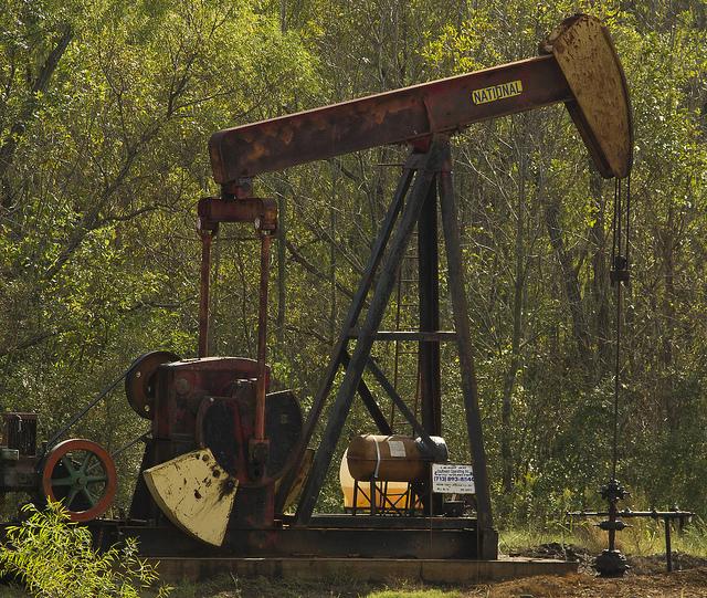 Pozo petróleo